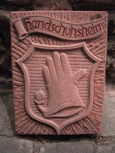Handschuhsheimer Wappen Sandstein