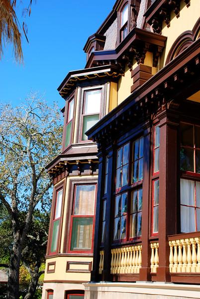 Fulton Mansion, detail