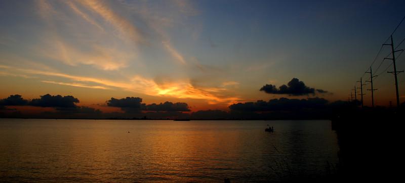 Fishing The Sun Up