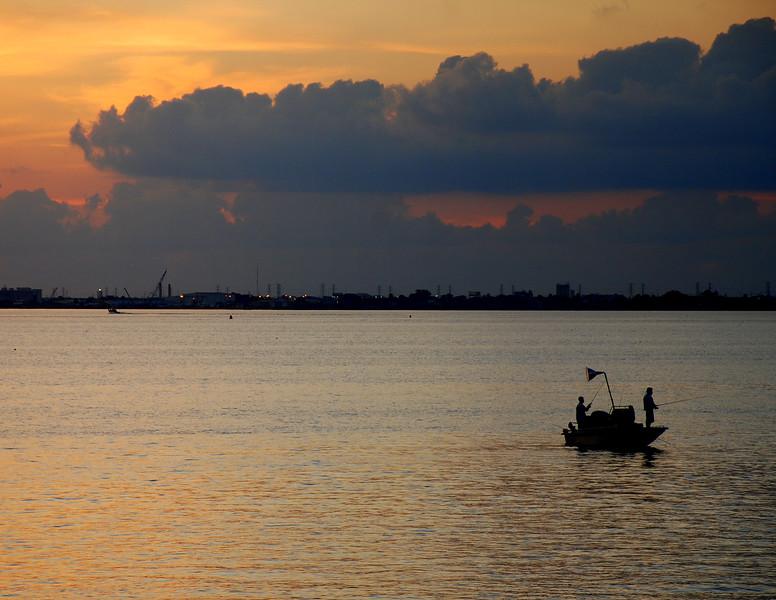 Fishing As The Day Breaks
