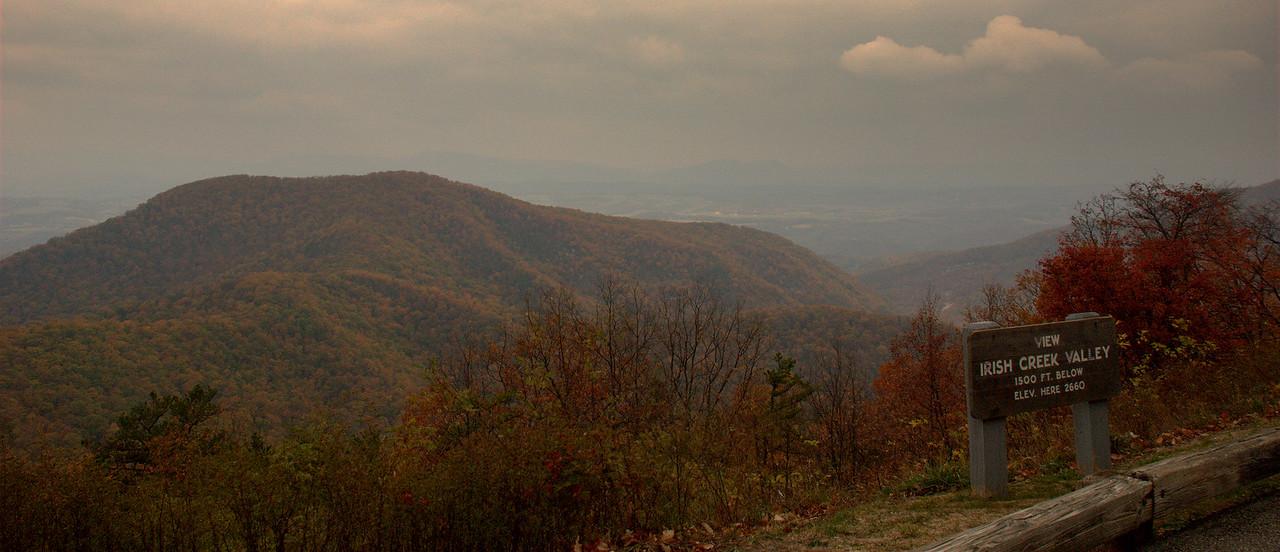 Irish Creek Valley Overlook