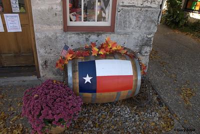 Texas Wine Barrel