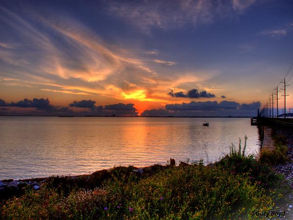 Virginia Point, Galveston Bay