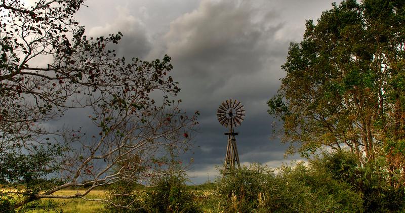 Stormy Windmill