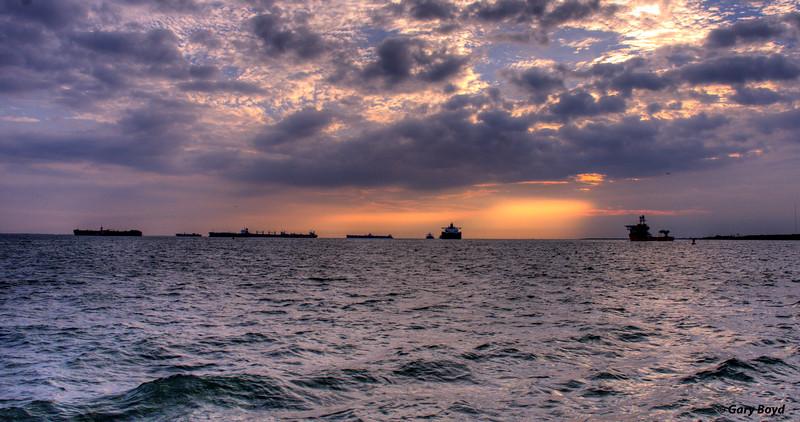 Galveston Bay Shipping