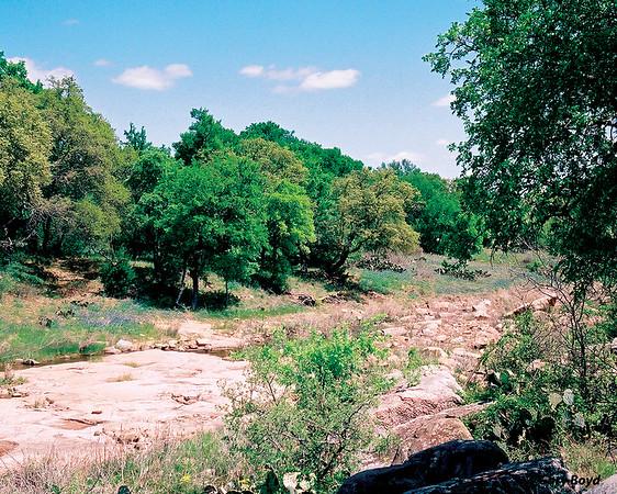 Dry Creek North Of Fredricksburg