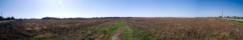 Nash Prairie Preserve Panorama.<br /> December 2011 Nash Prairie Preserve<br /> Brazoria County, TX