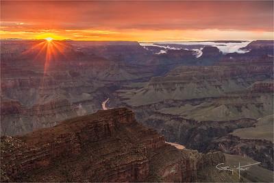 Grand Canyon Sunset, Hopi Point