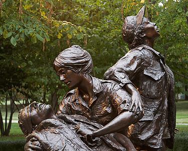 The Veterans Memorial Wall