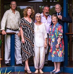 Stewart & Sandy (in middle) Julia, Justin, Sue & Tony Wade