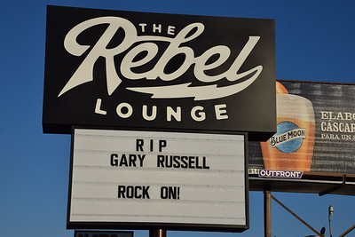 Gary M. Russell Memorial at Rebel Lounge, Phoenix, AZ