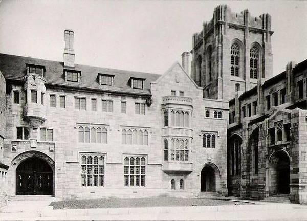 Court Yard Of City Methodist Church