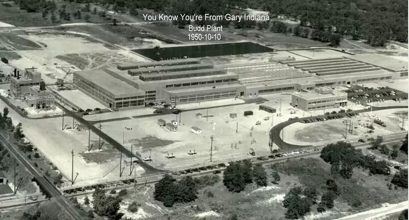 Budd Plant Gary Indiana 1950