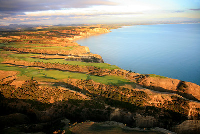 Cape Kidnappers Golf Course, Hawkes Bay, New Zealand - Aerial image