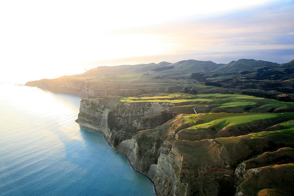 Cape Kidnappers Golf Course, Hawkes Bay, New Zealand - Sunrise