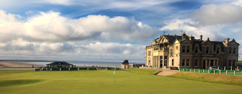 St Andrews Golf Links, St Andrews, Scotland - Hole 18 (Old Course)