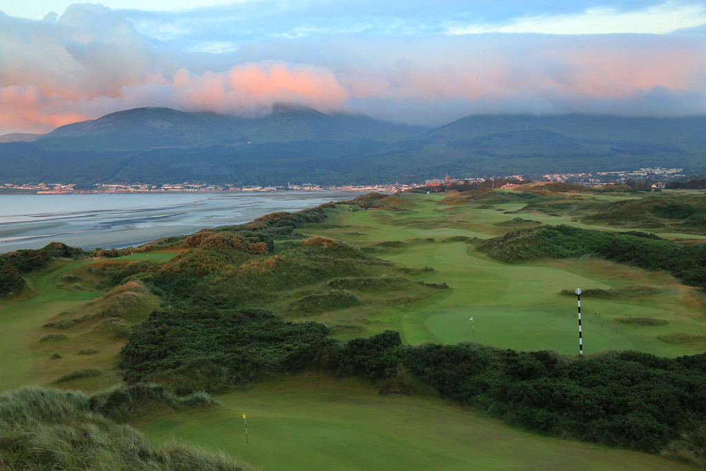 Royal County Down Golf Club, Newastle, Northern Ireland - Hole 3
