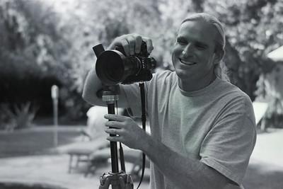 Gary Orona with Leica