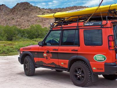 Gary Orona's Land Rover Old Orange
