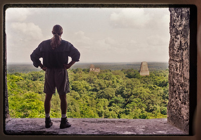 Gary Orona in Tikal Guatemala