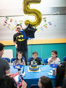 Garrison Lee's 5th Birthday