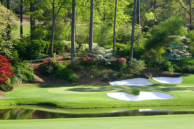 Augusta National Golf Club, Augusta, Georgia, USA - Hole 12