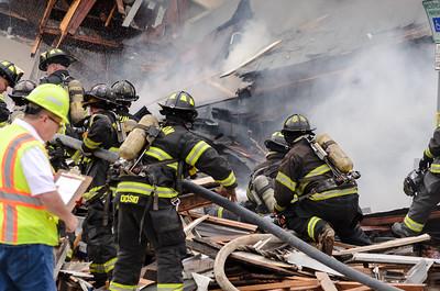 Gas Explosion Paterson NJ Goshen St 10-4-2016
