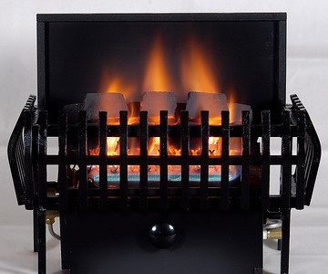 Chillbuster C9 CoalFire Vent-free heater with Classic Basket.