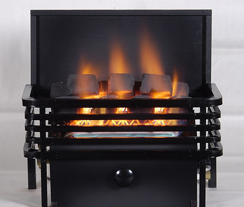 Chillbuster C9 CoalFire Vent-free heater with Moderne Basket.