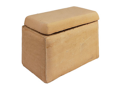 Item #RH3-BE BEIGE COLOR - Smooth-sided Ceramic House (for Shapes, Balls and Stones) to protect remote control receivers
