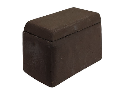 Item #RH3-BR BROWN COLOR - Smooth-sided Ceramic House (for Shapes, Balls and Stones) to protect remote control receivers