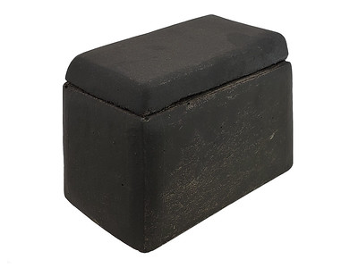 Item #RH3-BL BLACK COLOR - Smooth-sided Ceramic House (for Shapes, Balls and Stones) to protect remote control receivers