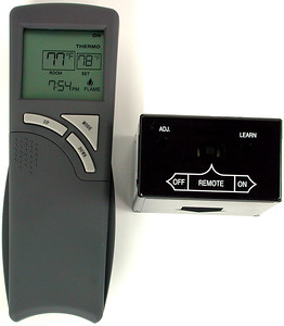 THR-MV1 ON/OFF Remote with thermostat and timer features, for millivolt and 24volt EIS
