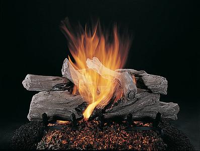 Evening Campfire on FX Burner