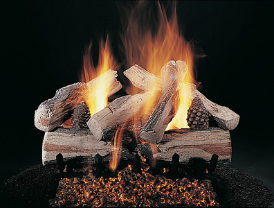 Evening Cross Fire on FX Burner