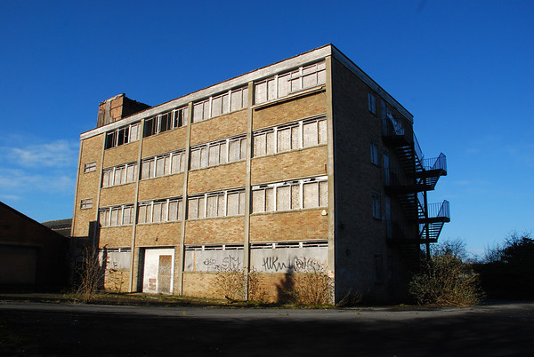 Four story office block