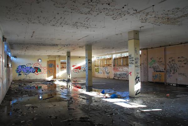 Ground floor of the office block