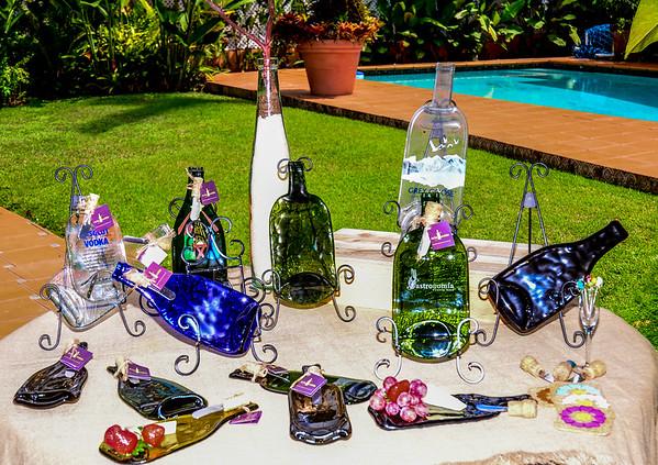 Botellas Decorativa y Artista