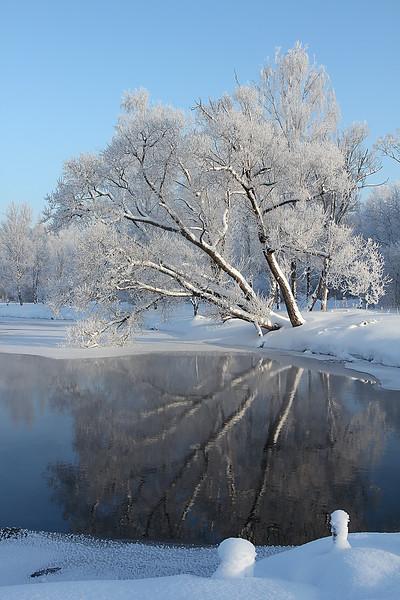 Gatchina Park - Beauties looking in the mirrors / Гатчинский парк - Красавицы глядятся в зеркала