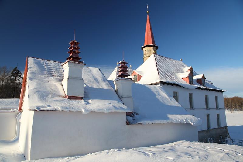 Gatchina. Priory Palace in Winter / Гатчина. Приоратский дворец зимой