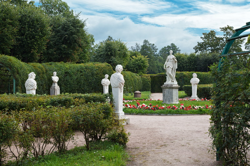 Gatchina Palace. The Emperial Private Garden / Гатчинский дворец. Императорский собственный сад