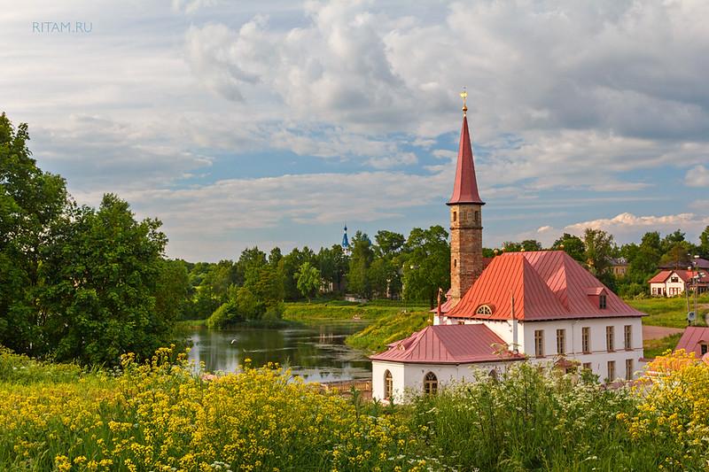 Gatchina. Priorat Palace / Гатчина. Приоратский дворец