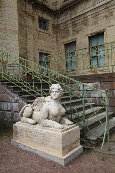 Sphynx. The Emperial Private Garden - Gatchina Palace / Сфинкс. Императорский собственный сад - Гатчинский дворец