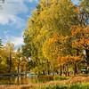 Гатчинский парк осенью