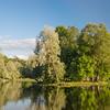 Gatchina Park - An Island in the White Lake / Гатчинский парк - островок в белом озере