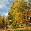 Gatchina Park. Boat Station - Autumn / Гатчинский парк. Лодочная станция - осень
