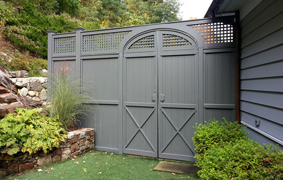 198 - 513856 - New Milford CT - Universal & Lattice Custom Gate