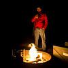 Fire pit warming