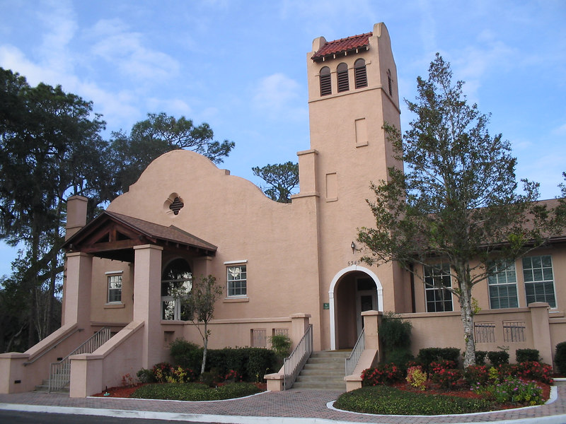 City Hall, downtown Belleview<br /> PHOTO CREDIT: Florida Trail Association / Sandra Friend