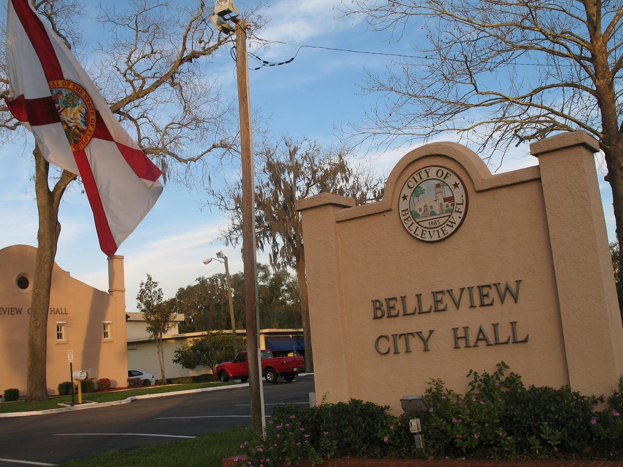 Belleview City Hall<br /> PHOTO CREDIT: Florida Trail Association / Sandra Friend
